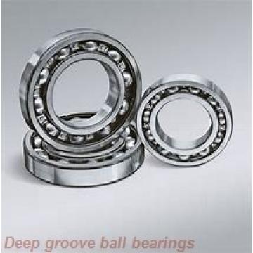 2,38 mm x 4,763 mm x 2,38 mm  ZEN SFR133-2Z deep groove ball bearings