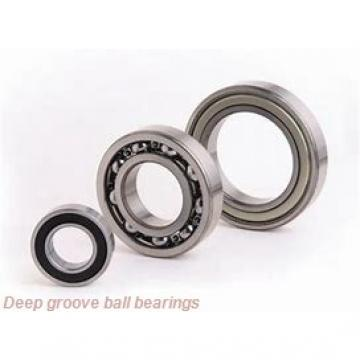 1,5 mm x 4 mm x 1,2 mm  NSK F681X deep groove ball bearings