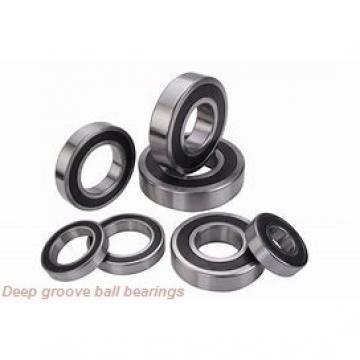 17 mm x 47 mm x 14 mm  KOYO 6303 deep groove ball bearings