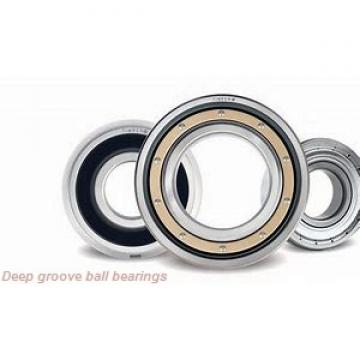 6,35 mm x 9,525 mm x 10,719 mm  SKF D/W R168 R deep groove ball bearings