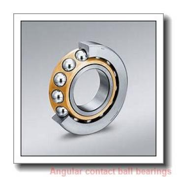 42 mm x 76 mm x 39 mm  Fersa F16194 angular contact ball bearings
