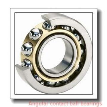 90 mm x 190 mm x 43 mm  FAG 7318-B-TVP angular contact ball bearings