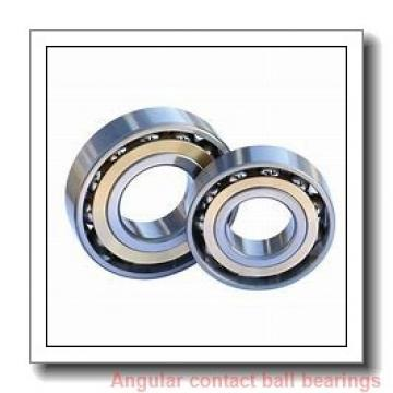 43 mm x 82 mm x 45 mm  NACHI 43BVV08-6G angular contact ball bearings