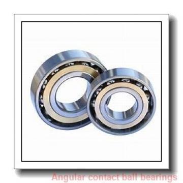 75 mm x 130 mm x 25 mm  Timken 7215WN angular contact ball bearings