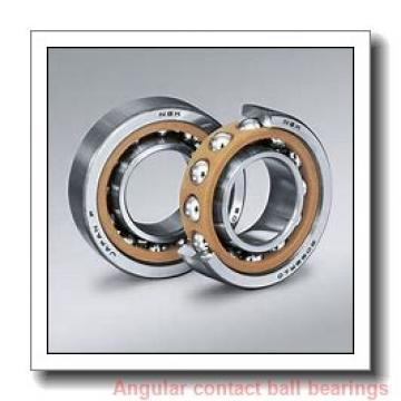 70 mm x 125 mm x 24 mm  NTN 7214BDT angular contact ball bearings
