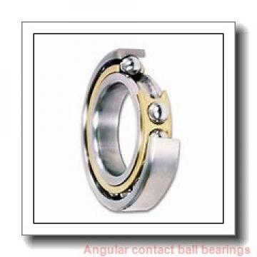 30 mm x 62 mm x 23,8 mm  NSK 5206 angular contact ball bearings