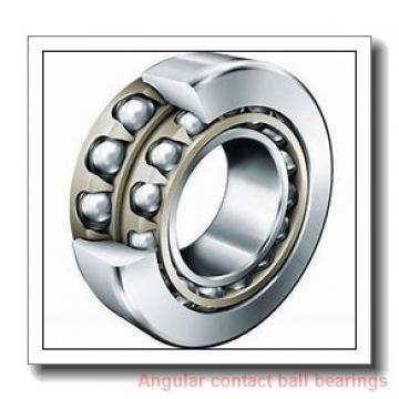 38,1 mm x 68 mm x 37 mm  NSK DAC2001 angular contact ball bearings