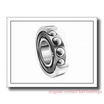 30 mm x 55 mm x 13 mm  NACHI 7006AC angular contact ball bearings