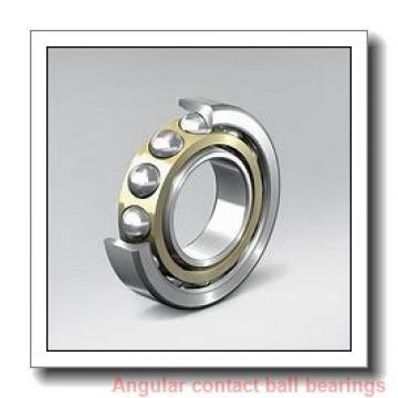 190 mm x 255 mm x 33 mm  KOYO AC382633B angular contact ball bearings