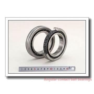 ISO QJ1011 angular contact ball bearings